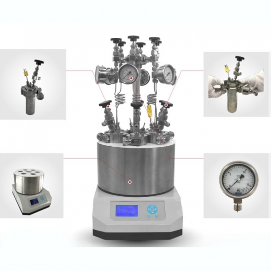Stainless Steel Parallel Synthesizer Autoclave Polymerization Reactor
