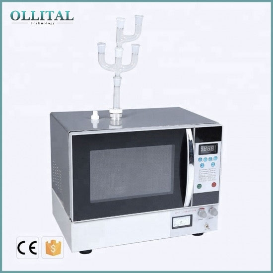 Lab Chemical Synthesis Equipment Rapid Heating Microwave Chemical Reactor